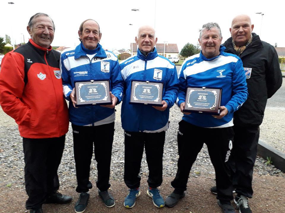 Championnat  de  L'Allier  triplettes  vétérans