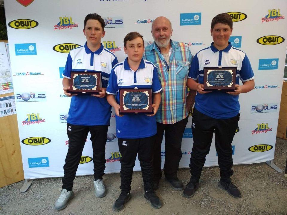 Championnat  d'Auvergne  Cadets