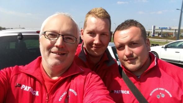 Les as du selfie, Alain Jordan et Thomas !