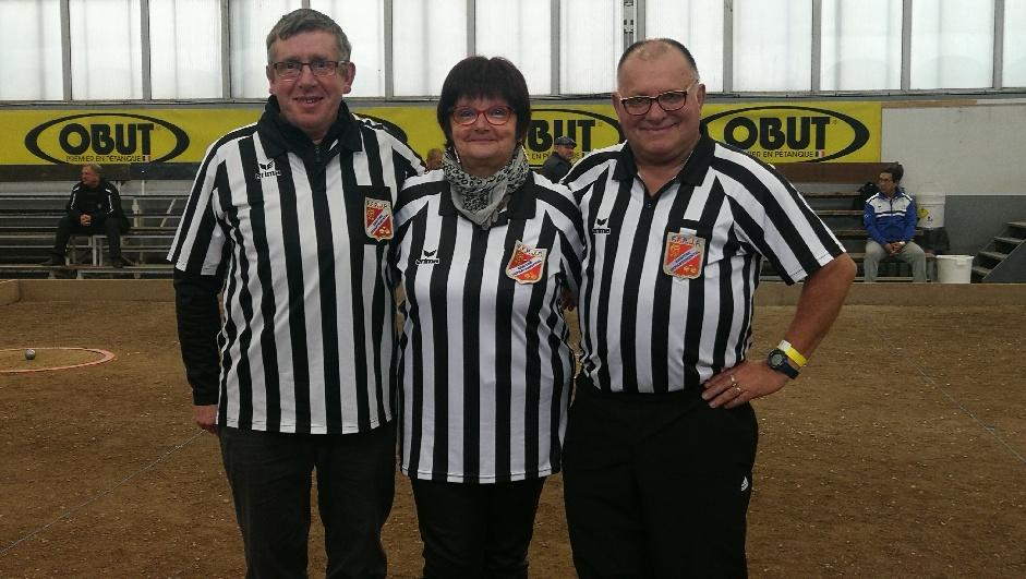 Nos 3 arbitres : Serge, Nicole et Pépère
