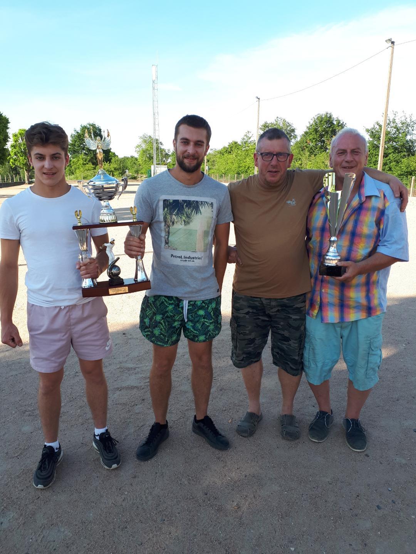 Gaëtan et Jordan les grands vainqueurs avec les 2 finalistes Sergio et Pat !