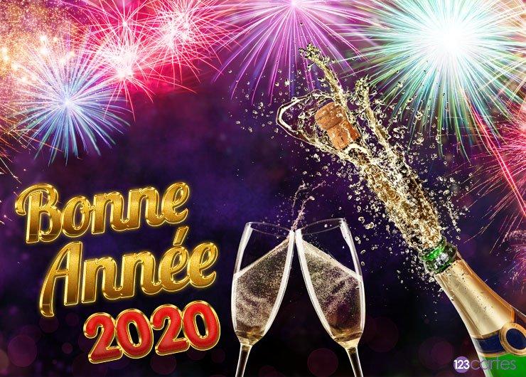 BONNE ET HEUREUSE ANNEE 2020