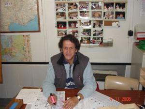 Bruno au graphique en 2006