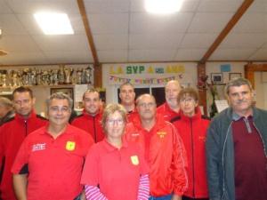 L'équipe SVCP victorieuse de Sucy en Brie