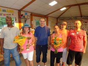 Marcel, Fabienne, Philippe, Luisa, Alfredo et Raphaël
