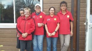 L'équipe féminine SVCP 1