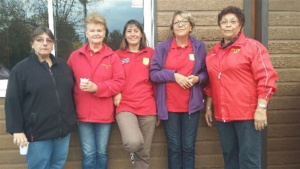 L'équipe féminine SVCP 2