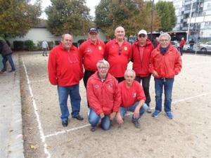 L'équipe SVCP 4 qui a battu Palaiseau 2