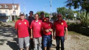 L'équipe Senior SVCP 1