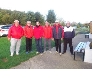 L'équipe Senior SVCP 4