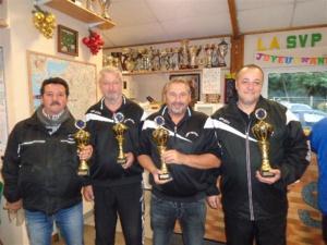 Christian, Stéphane, Frédéric et Kamel