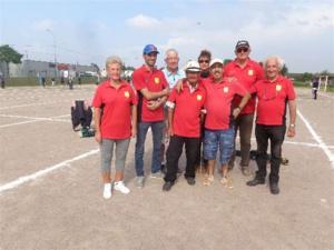 L'équipe SVCP qui a vaincu SGS