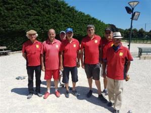 L'équipe SVCP 1 en déplacement à Courcouronnes