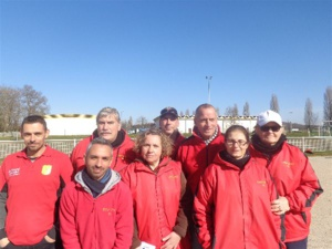 L'équipe SVCP vainqueur de Boisy sous Saint Yon