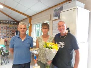 Régis, Annie et  Jean-Luc (SVCP) vainqueurs du A