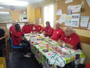 Michel, Michaël, Yves, Bruno, Giuseppe, Guy et Robert