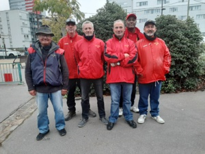 Jacky, Jean-Claude, Richard, Roland, Grégoire et Jean-Claude