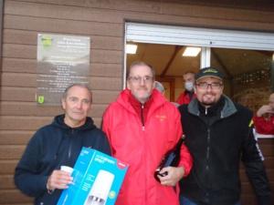 Roland, Didier et Sébastien, le podiulm de la Super Mêlée