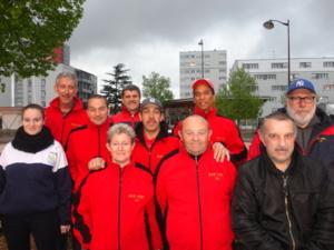 Coupe de France des clubs 2013/2014. Après être venu à bout de Saclay, la SVCP fera la finale départementale à Vert le Grand le 31.05.2013