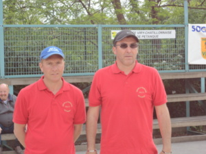 Sylvain Pilewski et Nicolas Chapelle