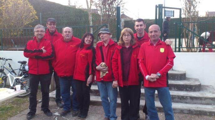 L'équipe SVCP 2 à Verrières