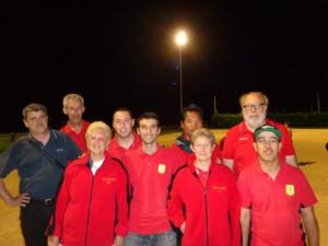 L'équipe SVCP vainqueur
