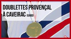 Tirage au sort du Championnat de France Doublette Jeu provençal à Caveirac (30) - 22, 23 et 24 août 2014