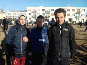 Christopher, Jonnhy et Axel
