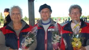 Marie-Pierre, Annie et Josette