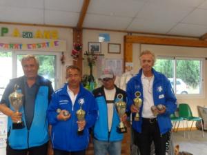 Assa, Jean-Marc, José et Hervé
