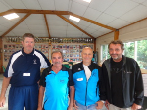 Serge, Daniel, Michel et Johan
