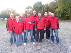 L'équipe SVCP plein soleil