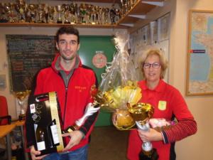 Marco et Fabienne vainqueurs du Mixte