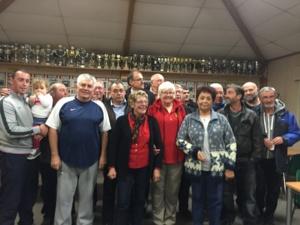 Les 16 membres du Comité de direction 2016/2019