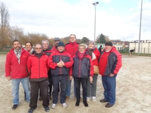L'équipe SVCP et ses coachs