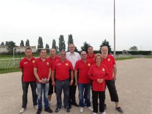 L'équipe SVCP vainqueur de SMS