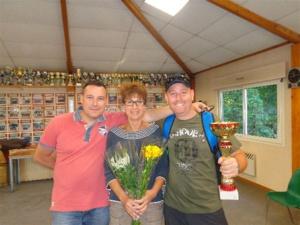 Les vainqueurs du 2ème, Arnaud, Annie et Laurent
