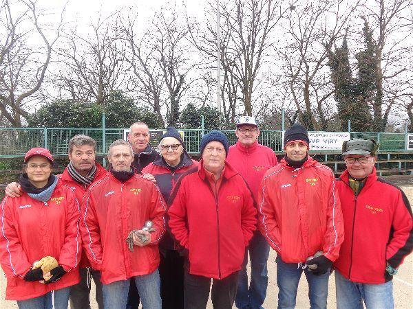 L'équipe SVCP vainqueur du cadrage contre Corbeil