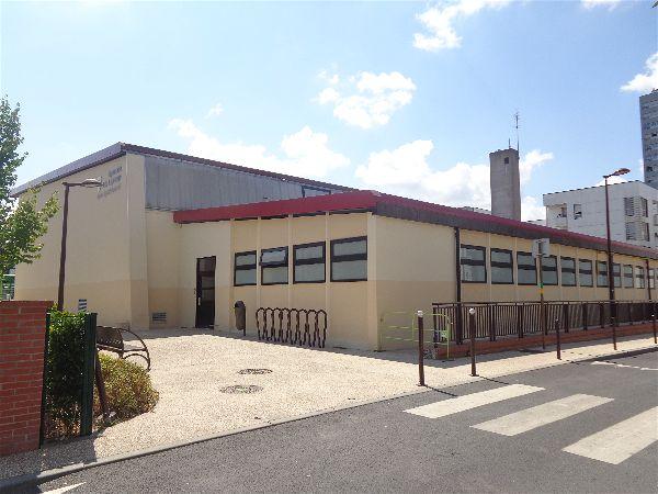 Le gymnase Léo Lagrange situé à 200 mètres du siège de la SVCP