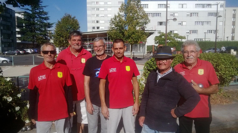 Richard, Gilles, Christian, David, Jacky, Maurice