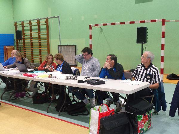 Les administrateurs du Comité de l'Essonne