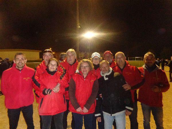 L'équipe SVCP vainqueur de la BOVY Crosne