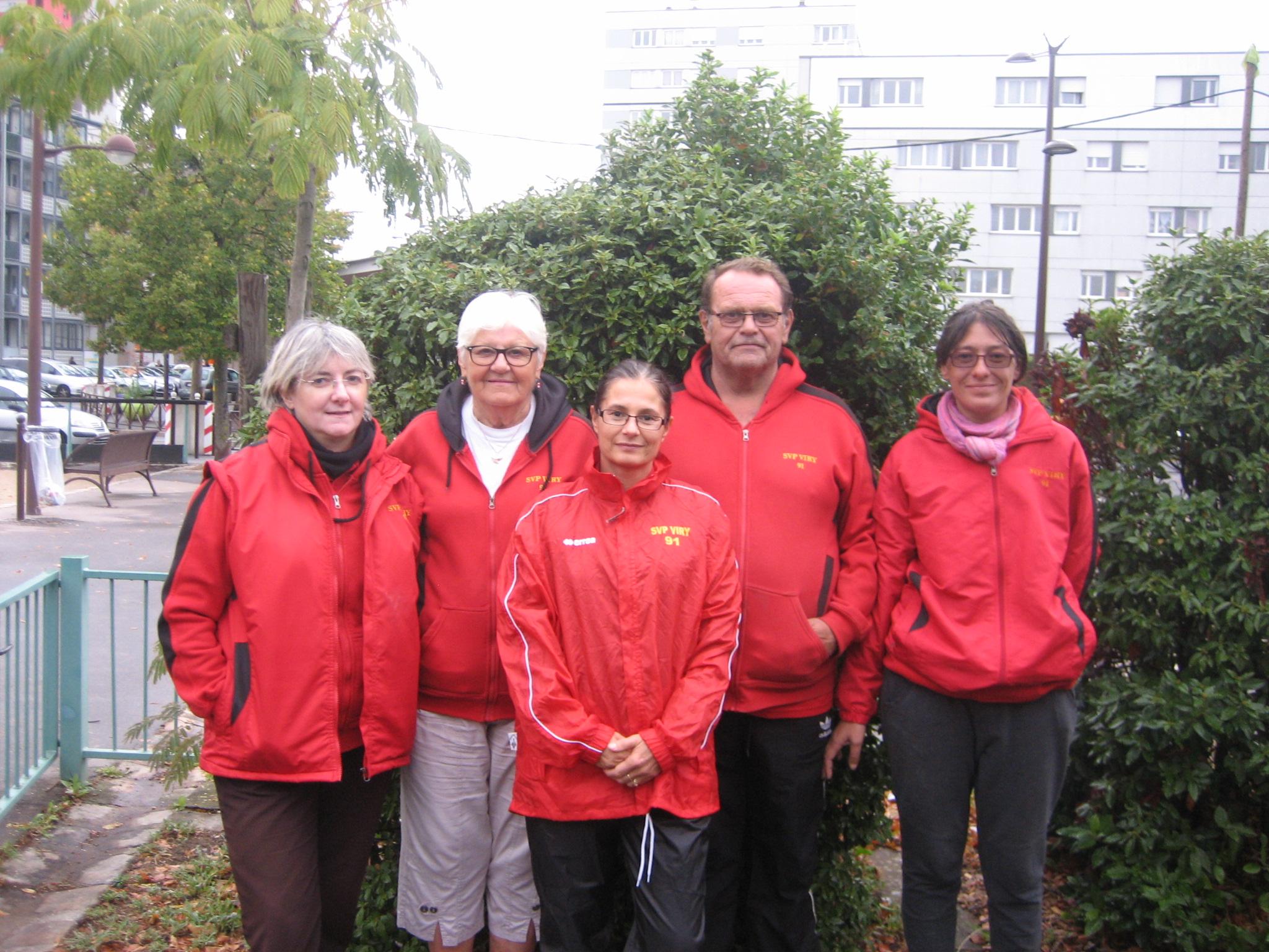 L'équipe féminine SVCP 2 qui évolue en 2ème Division - Groupe A