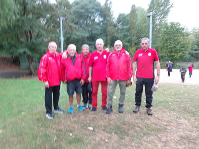 L'équipe SVCP 4 à Brunoy Sauvageon