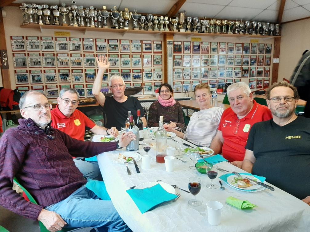 Les organisateurs :Didier, Bruno, Alain, Valérie, Annick, Gérard et Henri