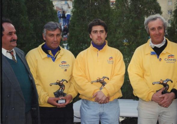 Les finalistes du national de CANNES 1998