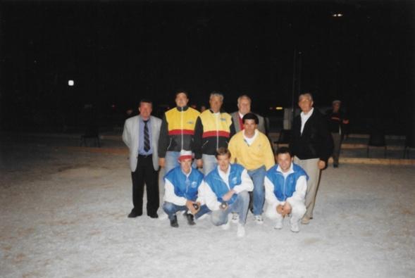 Les 2 équipes finalistes du drapeau fédéral 1998