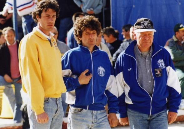 Association inédite pour le national de CANNES 1994