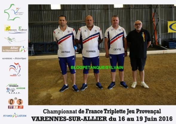 Les champions de France 2015 du 06