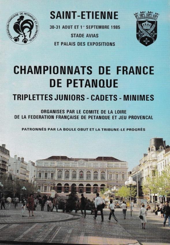 Tous les joueurs qualifiés au Championnat de France juniors de 1956 à 2019